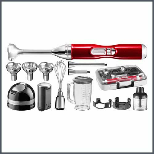 kitchenaid 5 speed hand blender set