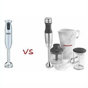 cuisinart vs kitchenaid, which is better