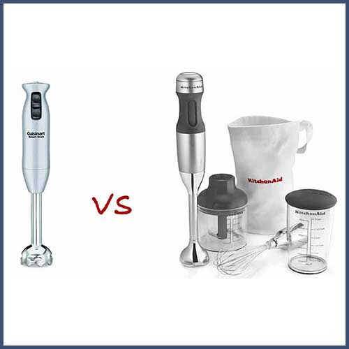 Cuisinart vs KitchenAid