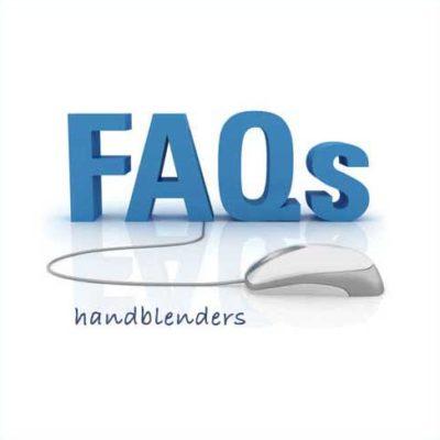 Hand blender FAQs