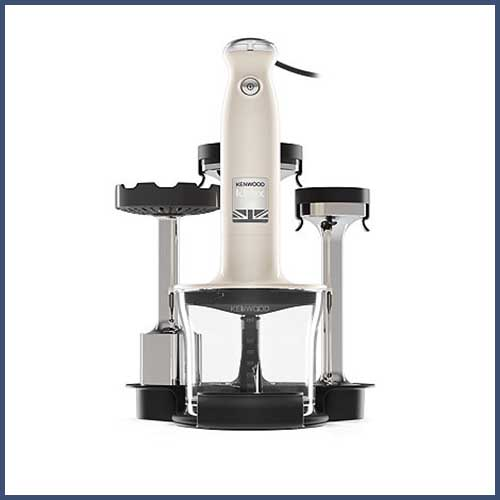 kmix triblade handblender set in cream