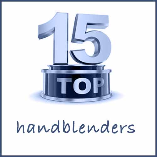 15 Best hand blenders to buy - 2019 update !