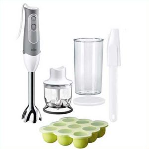 how to use a handblender to make baby food