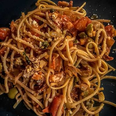 Adult Spaghetti … easy, quick, and so tasty.