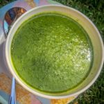 Instagram pea soup hand blender recipe