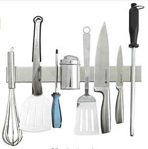 magnetic knife strip holder