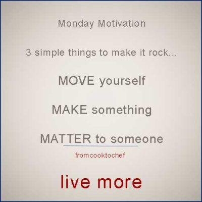 Make Monday Matter