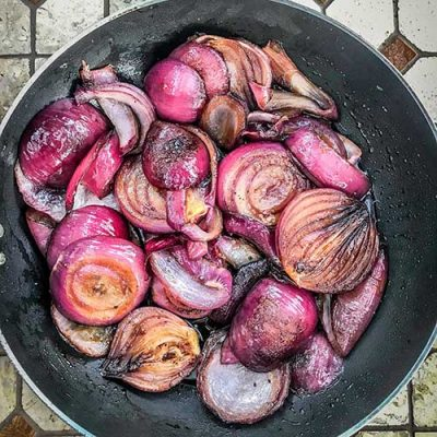 Red onion marmalade made easy