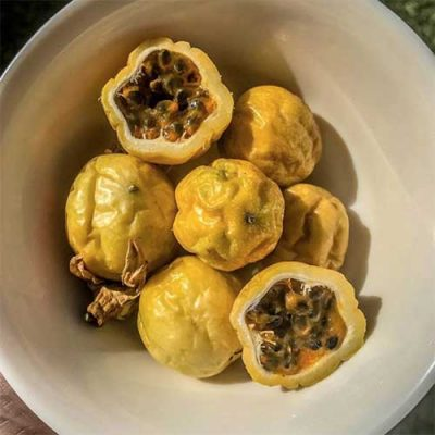 Local passion fruit