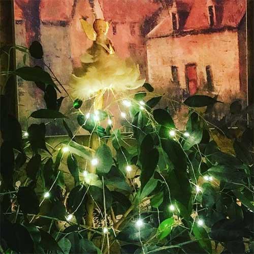 vintage (1960s) Christmas tree fair decoration