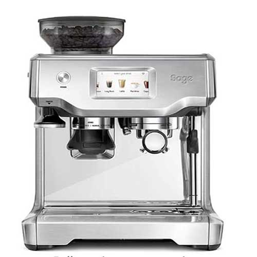 the barista touch stainless steel espresso machine by sage