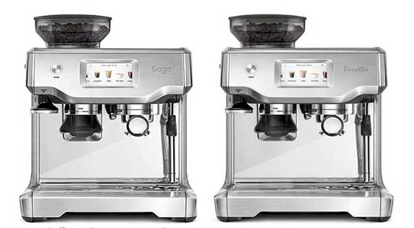 barista touch by breville and sage