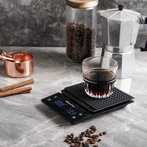 coffee scale and timer