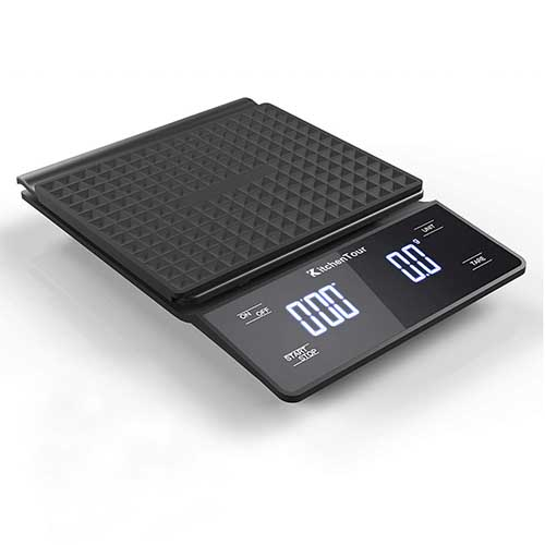 coffee scales with timer included