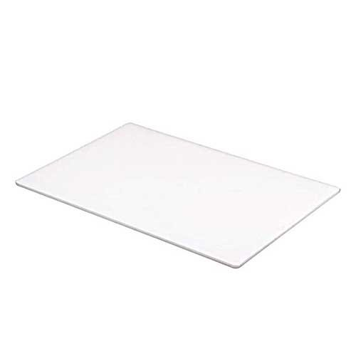 simple long lasting white chef board