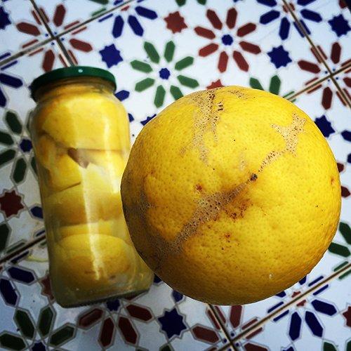 my preserved lemons