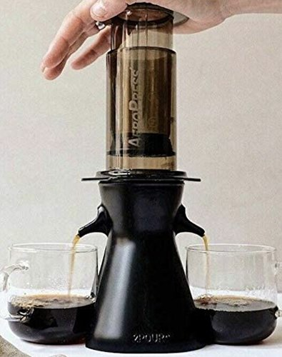 cool accessory for pour over coffee maker and aeropress